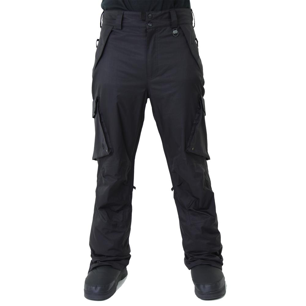 Boulder Gear Boulder Cargo Insulated Ski Pant (Men's) - Black