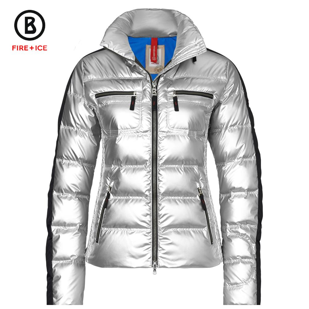 bogner fire ice leony d metallic down ski jacket women 39 s peter glenn. Black Bedroom Furniture Sets. Home Design Ideas