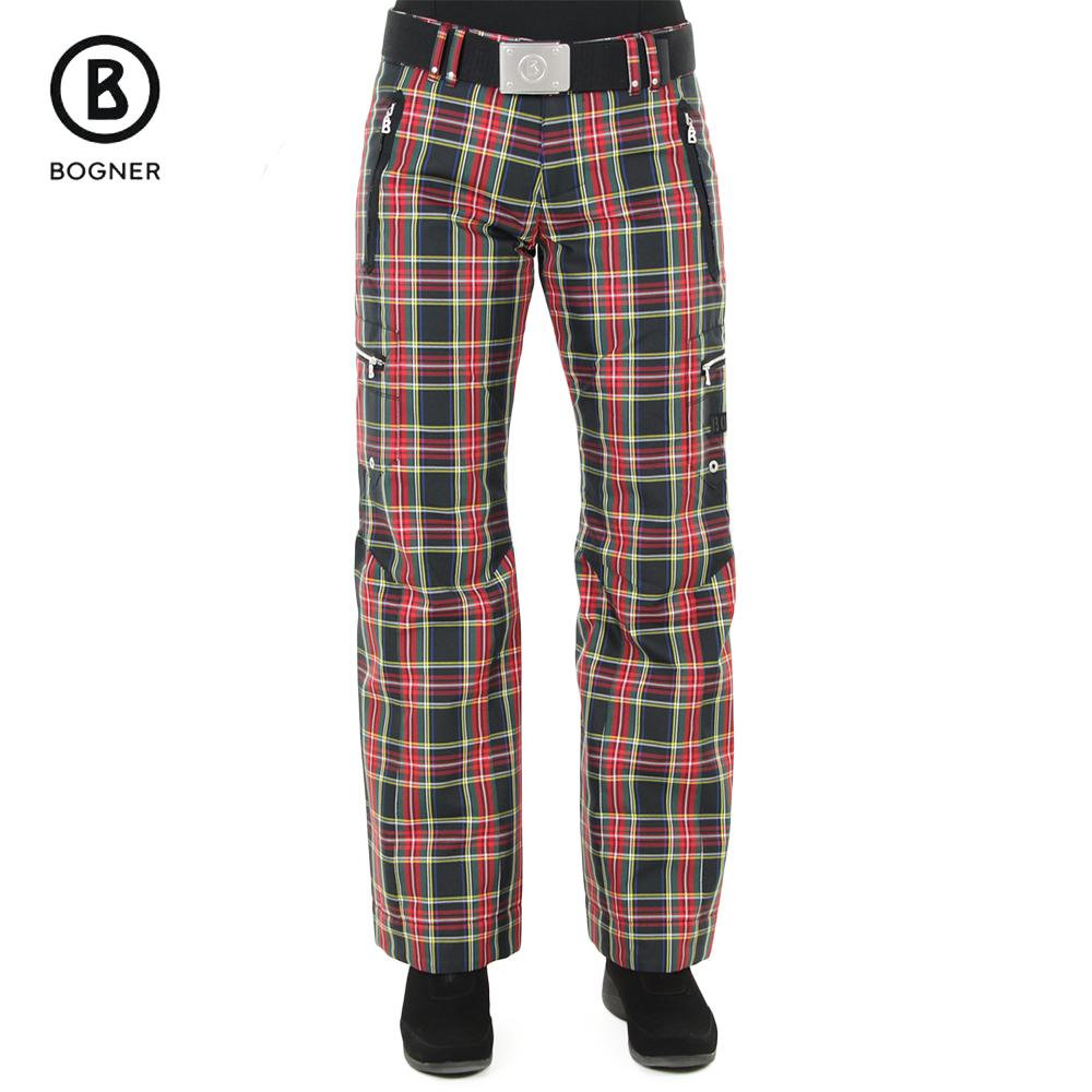 Bogner Tela Plaid Insulated Ski Pant (Women's) | Peter Glenn