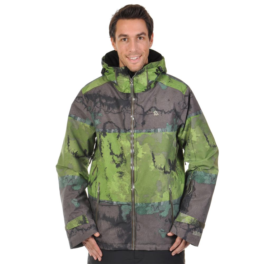Volkl Khula Insulated Ski Jacket (Men's) - Grass Print
