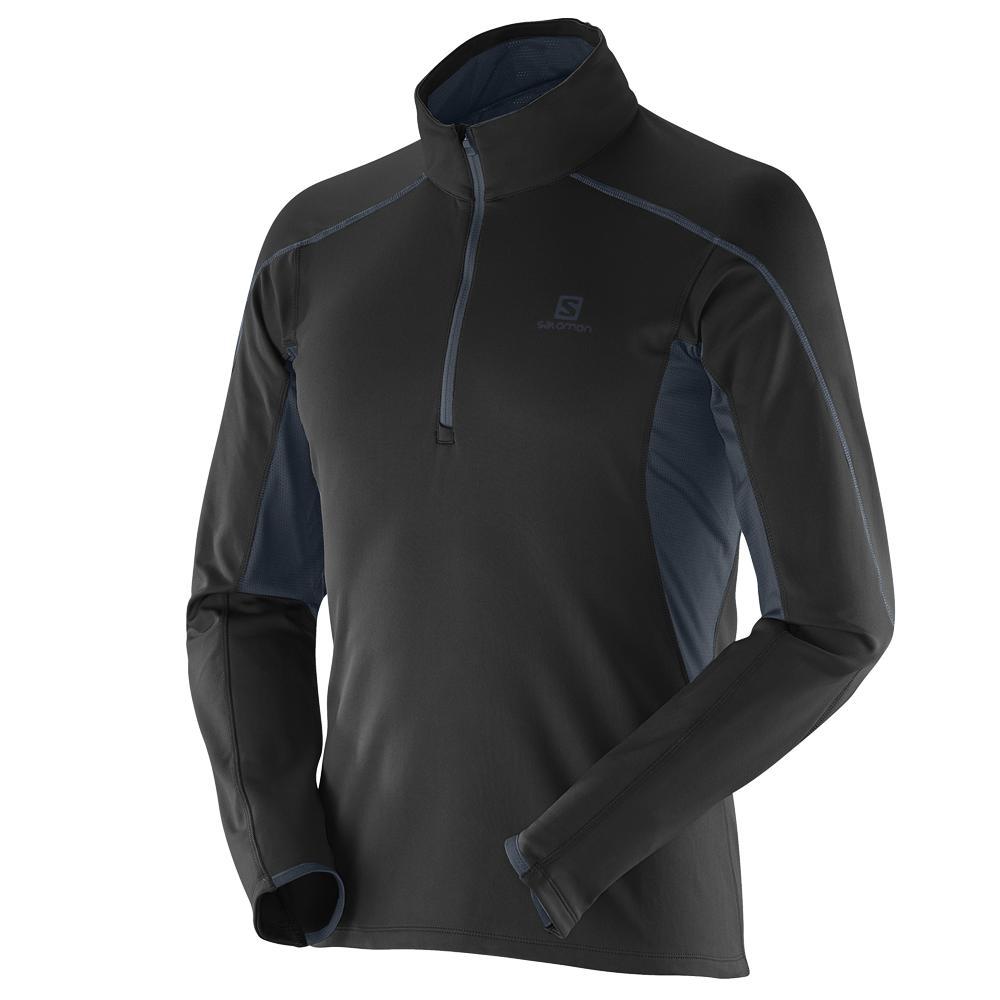 Salomon discovery half zip fleece jacket women's
