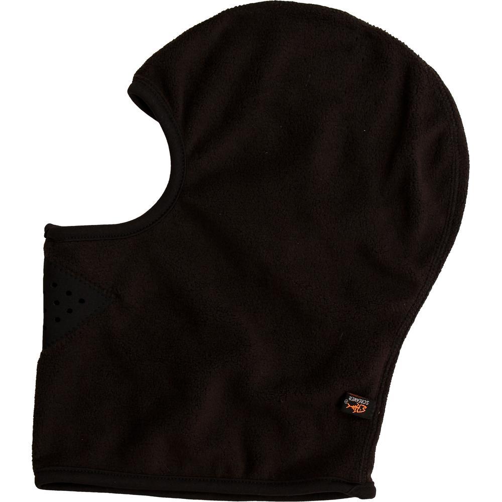 Screamer Fleece Facemask Balaclava (Adults') - Black