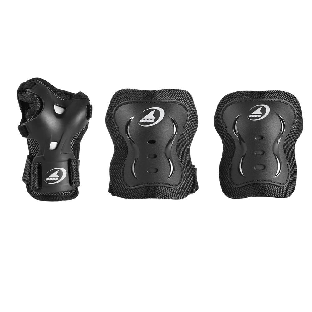 Rollerblade Bladegear XT 3-Pack Wrist, Elbow, and Knee Pads (Kids') -