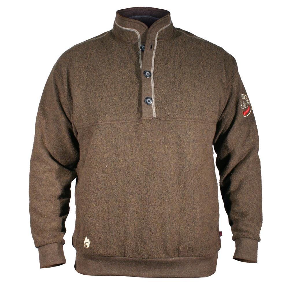 Hot Chillys Barrio Chubasco Fleece Pullover Sweater (Men's) - Driftwood/Putty