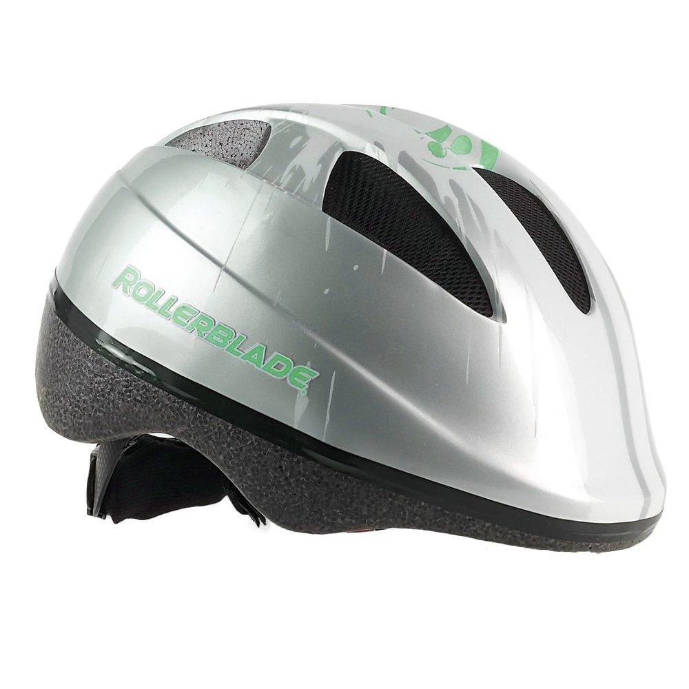 Rollerblade Zap Inline Skate Helmet (Kids') - Silver/Green