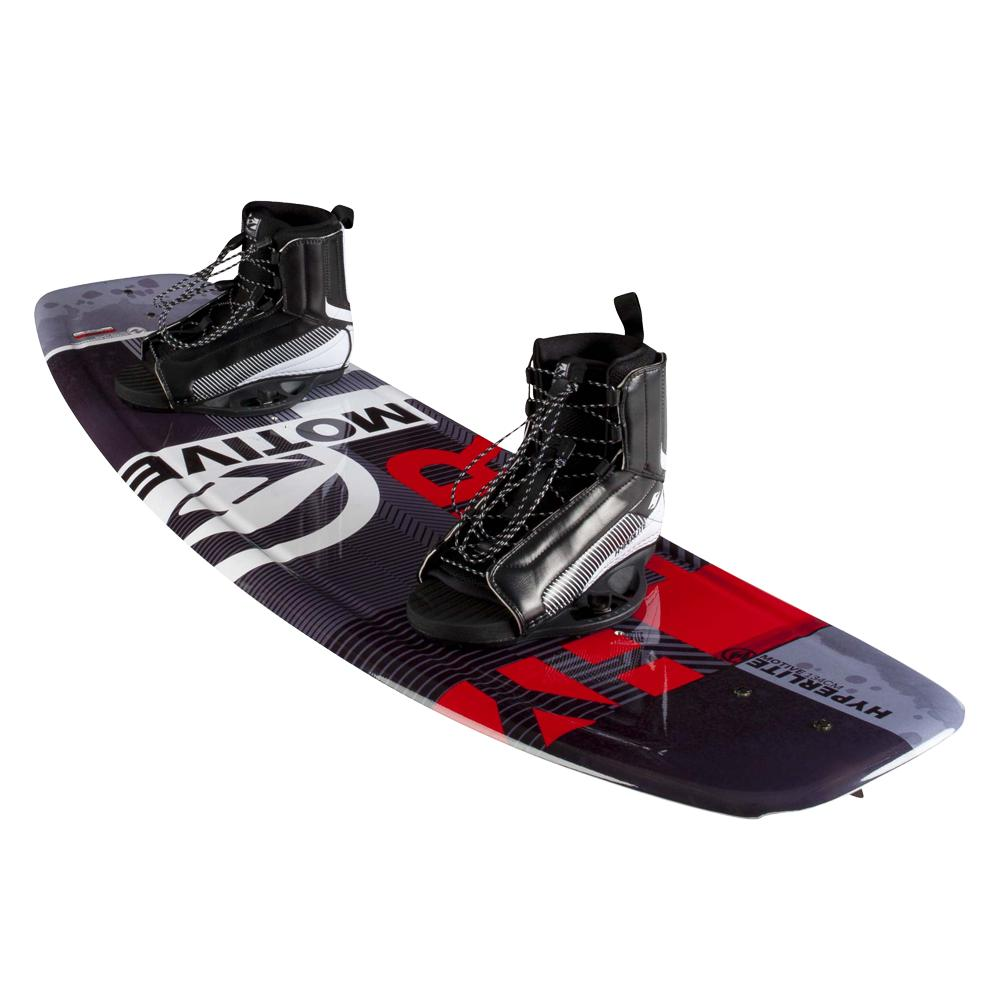 Hyperlite Motive 119 Wakeboard Package with 12-2 Remix Boots (Kids') | Peter Glenn