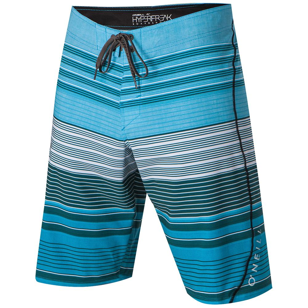 O'Neill Stripe Freak Boardshorts (Men's) - Charcoal/Gray