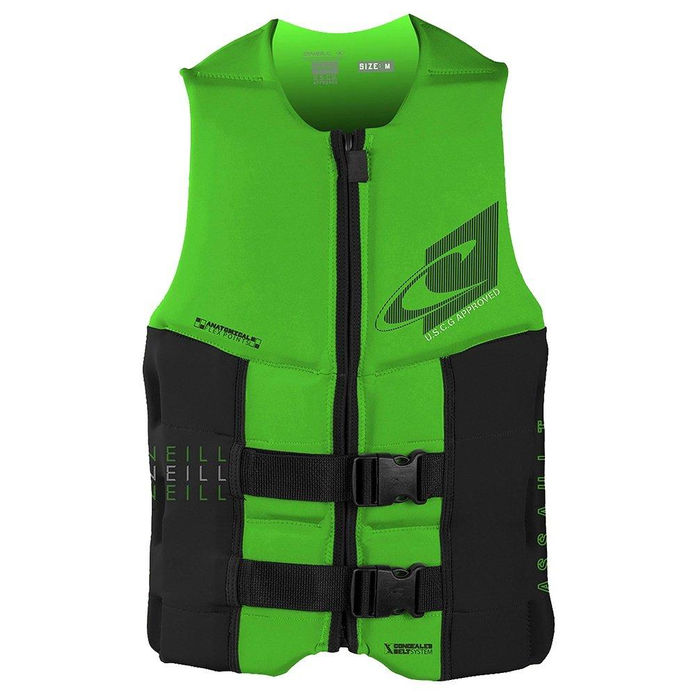 O'Neill Assault Life Vest (Men's) - Day Glow