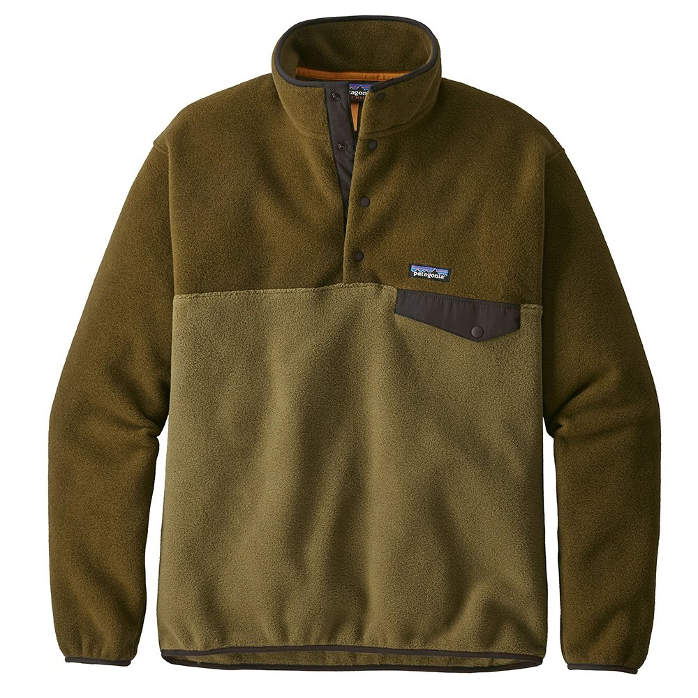 Patagonia Synchilla Snap-T Pullover Fleece (Men's) - Cargo Green