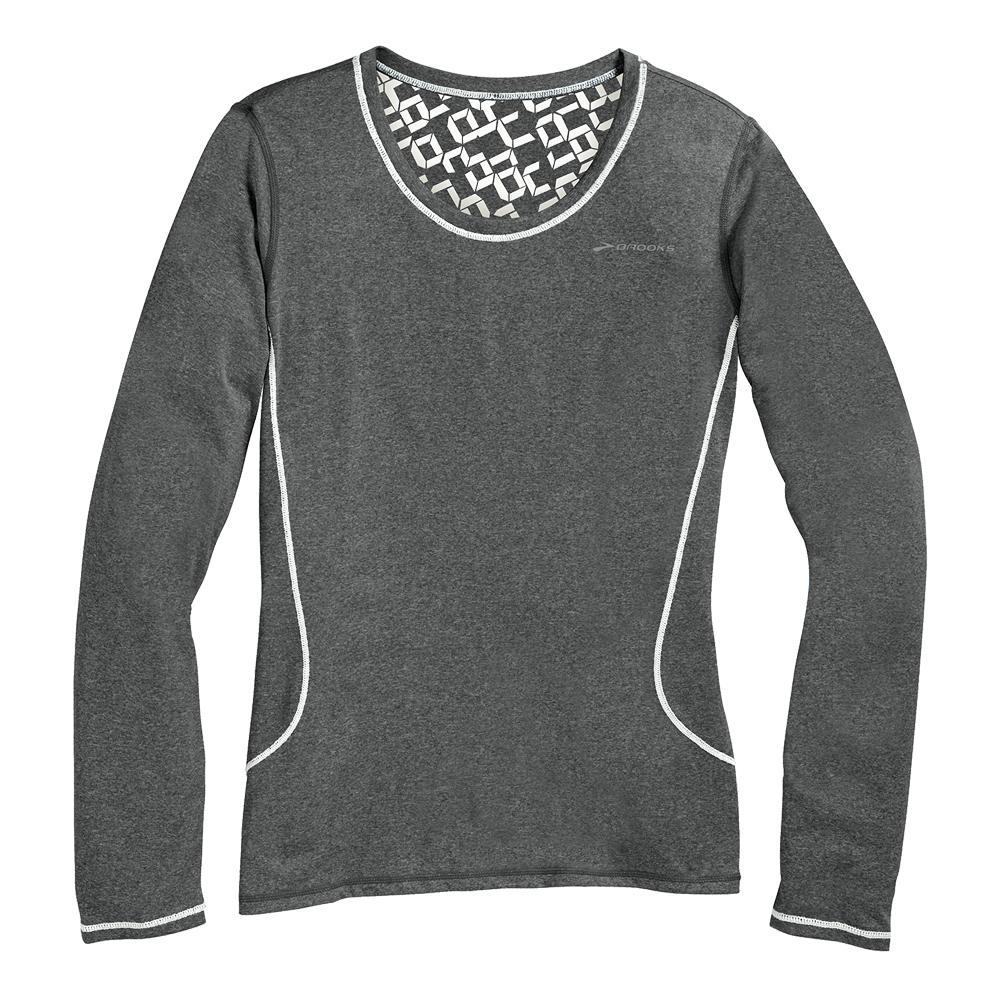 Brooks versatile long sleeve iii running shirt women 39 s for Long sleeve running shirt womens