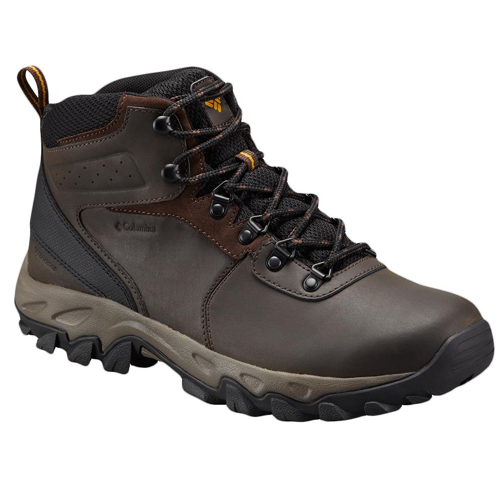 Columbia Newton Ridge Plus II Waterproof Hiking Boot (Men's) - Cordovan