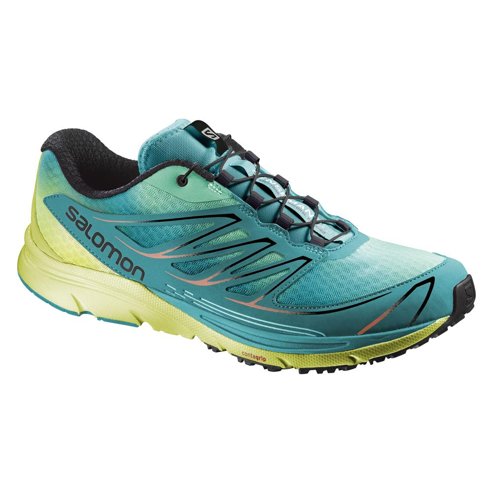 Salomon Sense Mantra 3 Trail Running Shoe (Women's) - Lucite Green/Gecko Green/Black