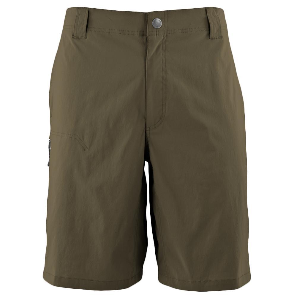 White Sierra Fixed Waist Traveler Short (Men's) - Dark Bark