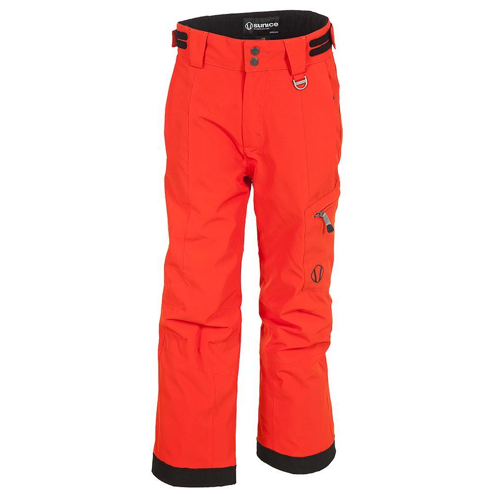 Sunice Laser Tech Insulated Ski Pant Boys