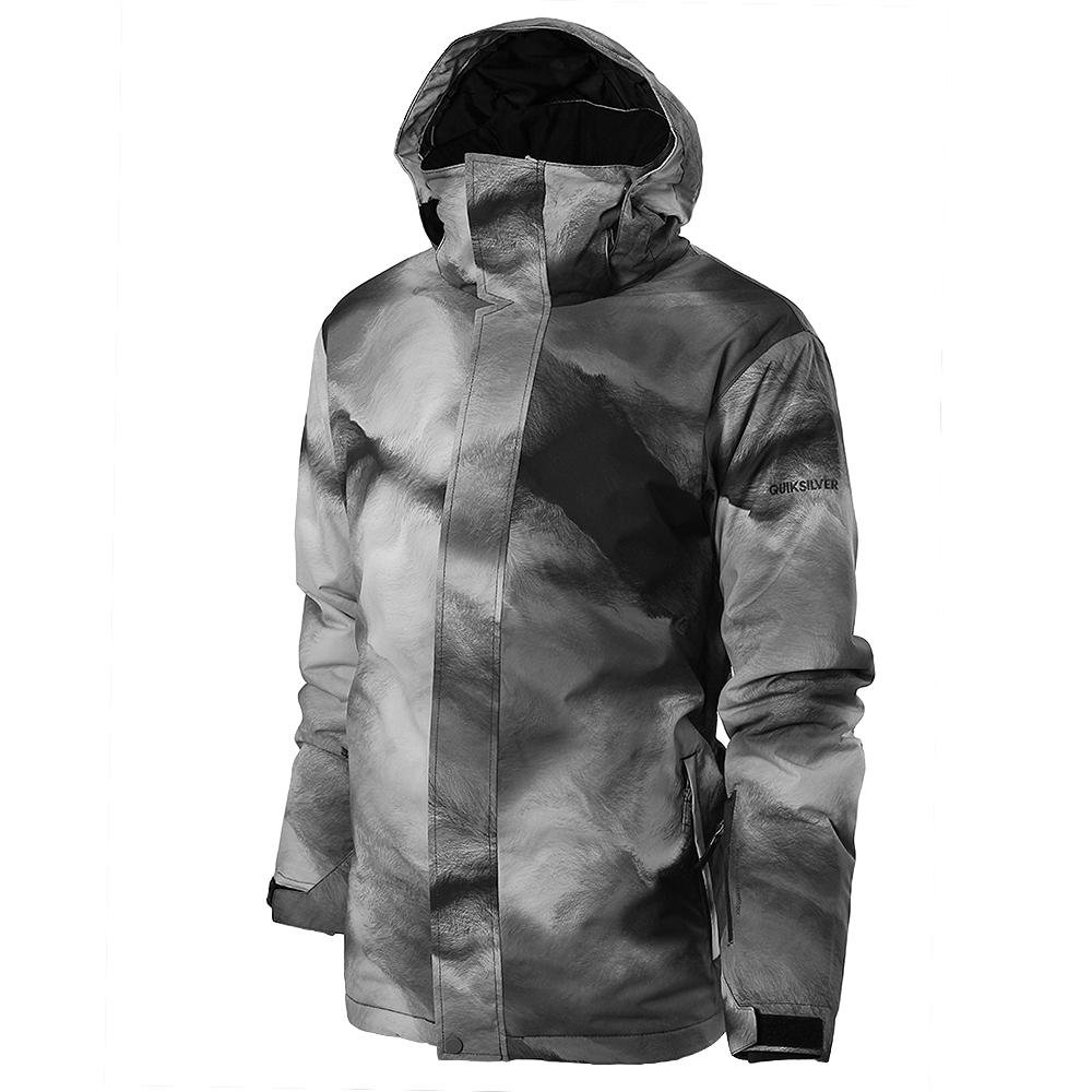 f8cc18b49 Quiksilver Travis Rice Mission Printed Insulated Snowboard Jacket ...