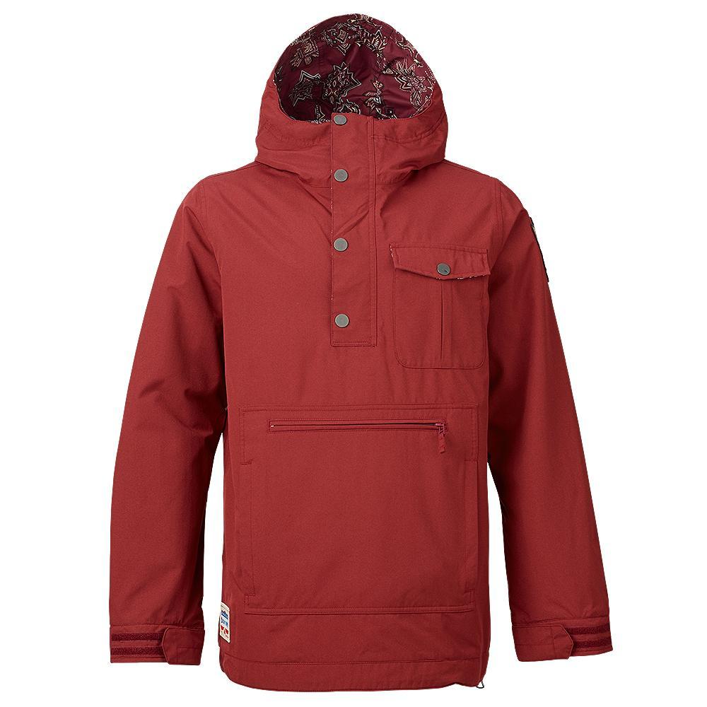 Burton Sawyer Shell Anorak Snowboard Jacket Men S