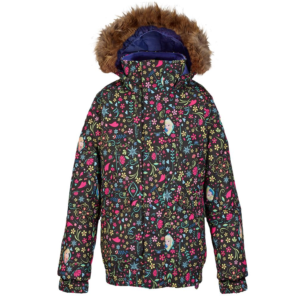 Burton Twist Bomber Insulated Snowboard Jacket (Girls') - Elsa Anna Frozen Print