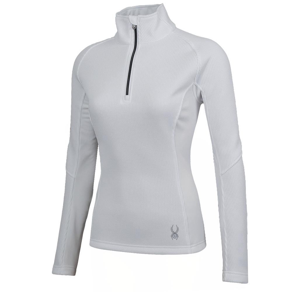 Spyder Valor Half Zip Mid Weight Core Sweater Jacket Womens