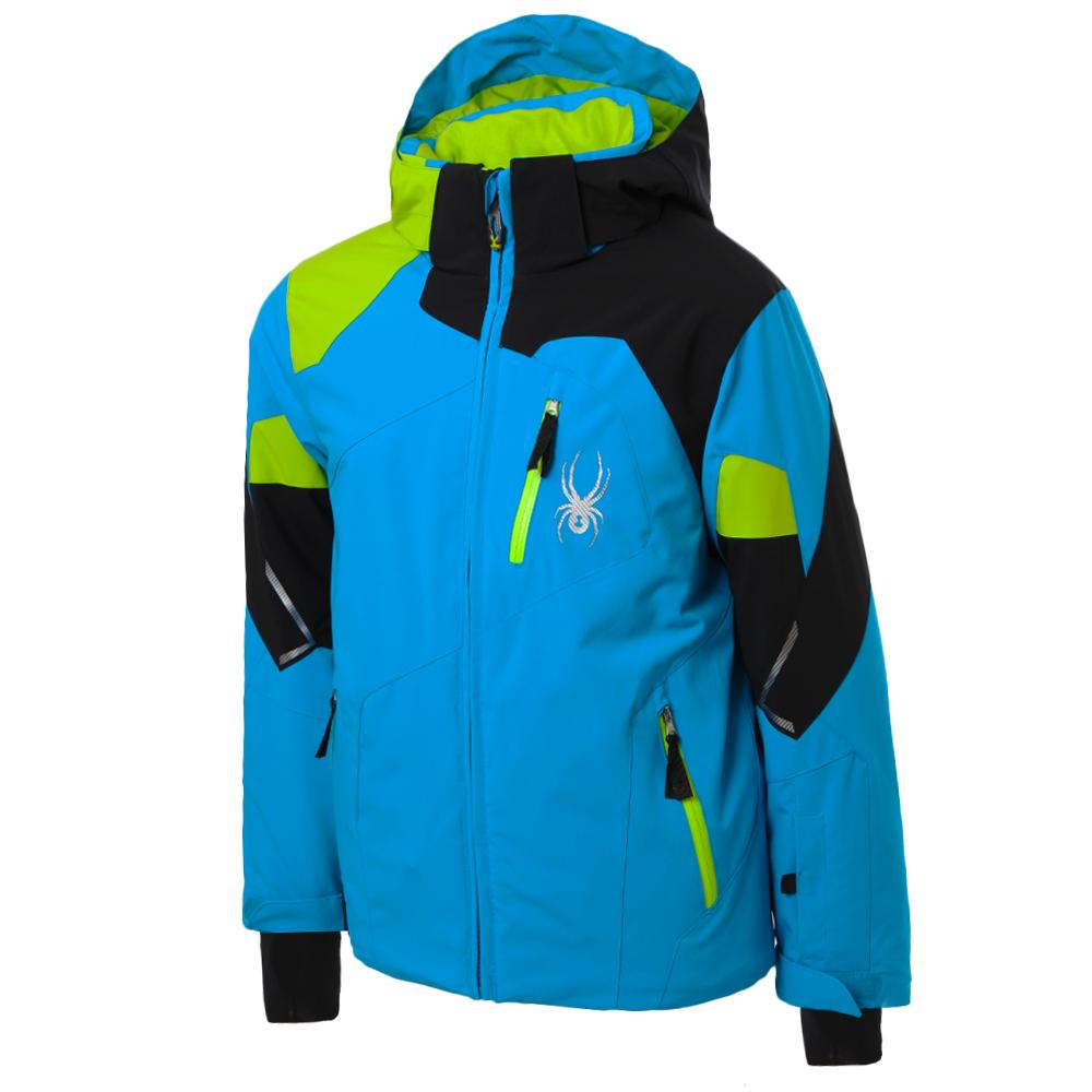 d54ee9e2cdd3 Spyder Leader Insulated Ski Jacket (Boys )
