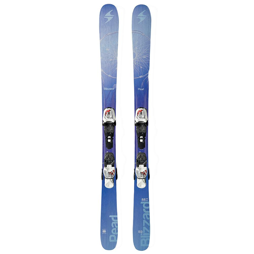 Blizzard Pearl Twin Jr IQ Ski System with Bindings (Girls') -