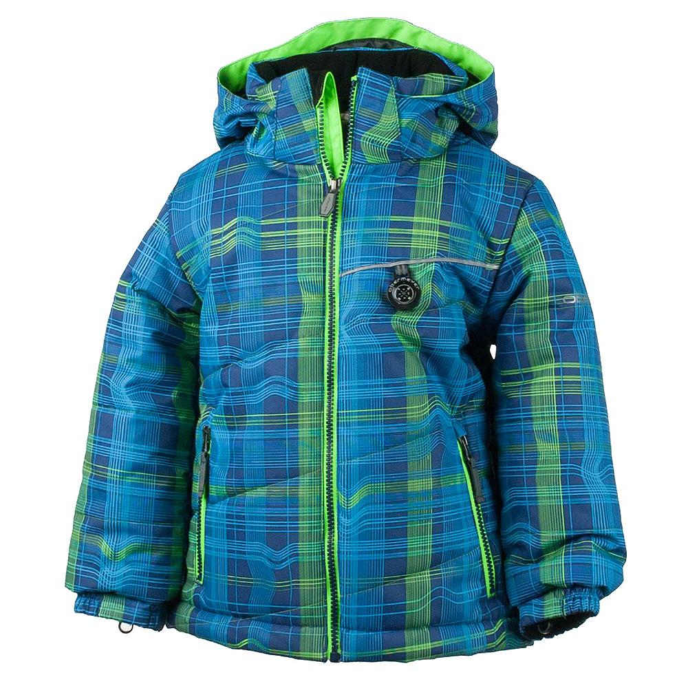 Obermeyer Strato Insulated Ski Jacket (Little Boys') - Electric Ave Print