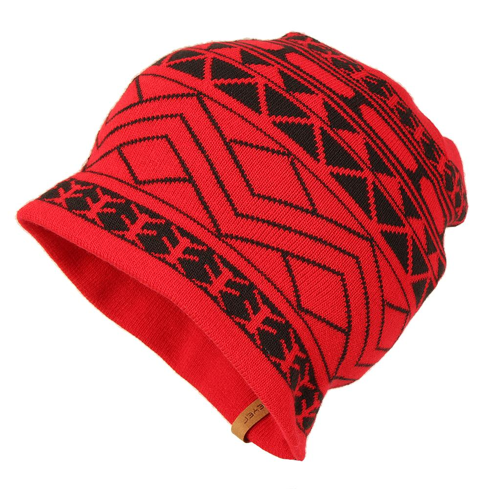 Obermeyer Prime Knit Ski Hat (Men's) - True Red