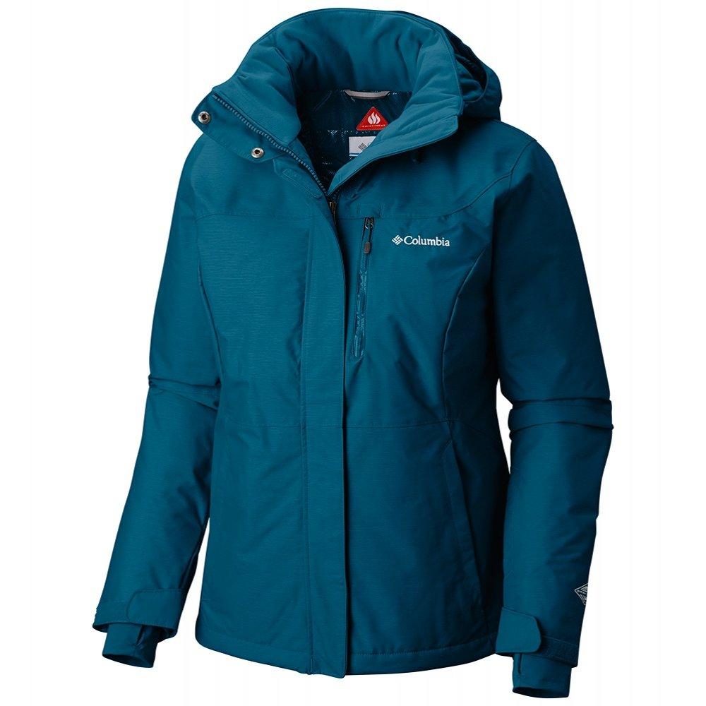 Columbia Alpine Action Ski Jacket (Women's) - Lagoon Crossdye/Beta