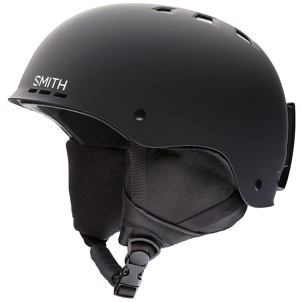 Smith Holt Helmet - Black Matte