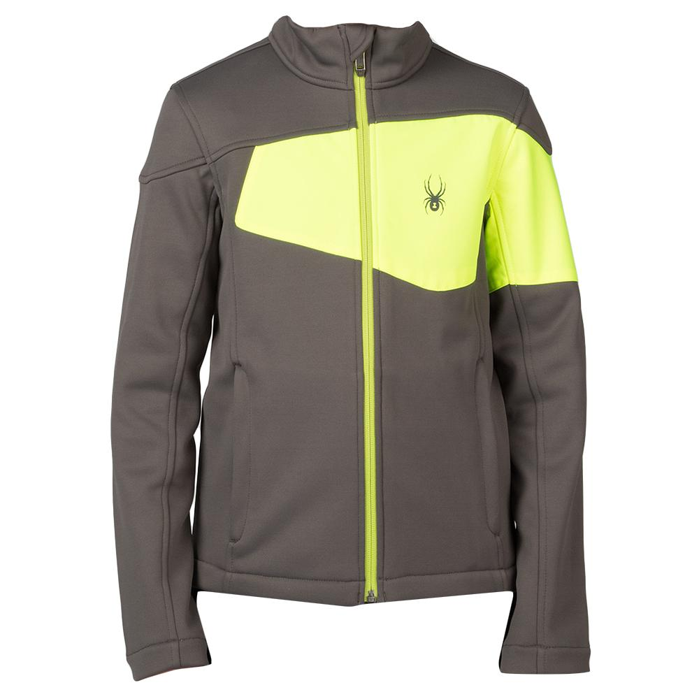 Spyder Acceler Fleece Mid Layer Jacket Boys Peter Glenn