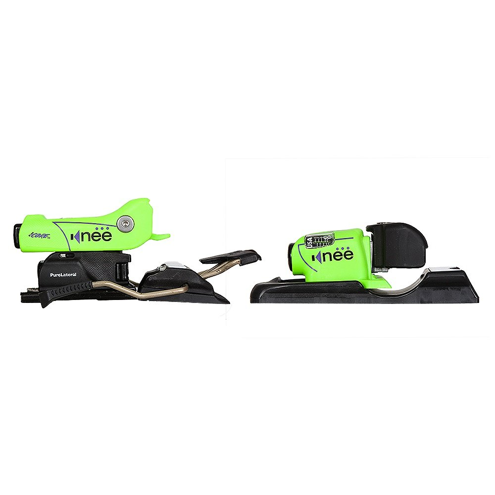 Kneebinding Hardcore 110 Ski Binding (Adults') - Neon Green