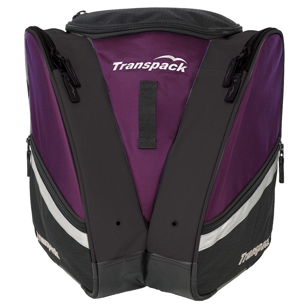 Transpack Compact Pro Ski Boot Bag - Plum