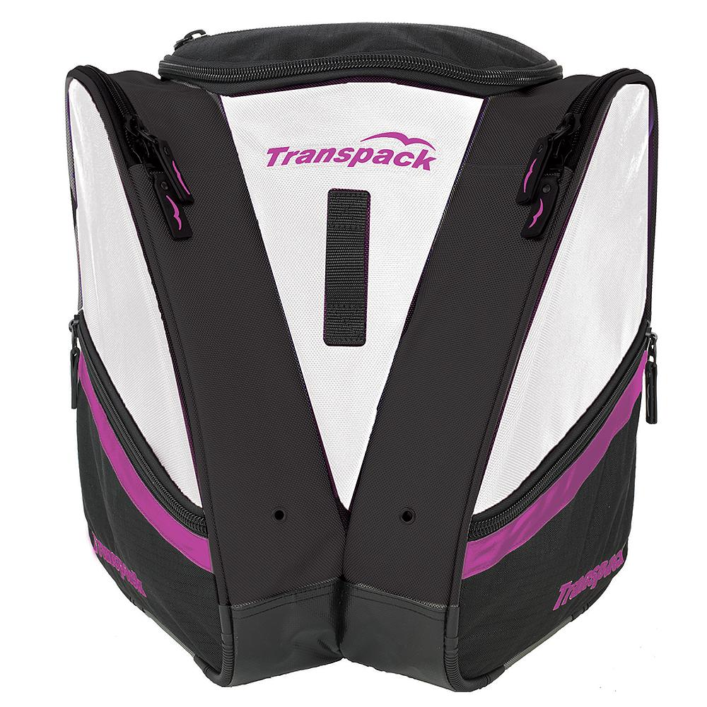 Transpack Compact Pro Boot Bag - White/Purple Electric