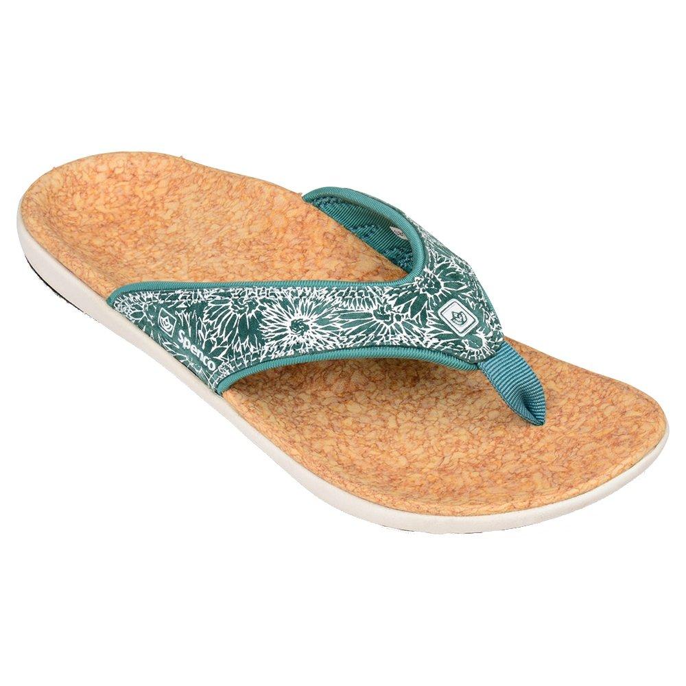 Spenco Yumi Canvas Sandals (Women's) - Daisy Tide