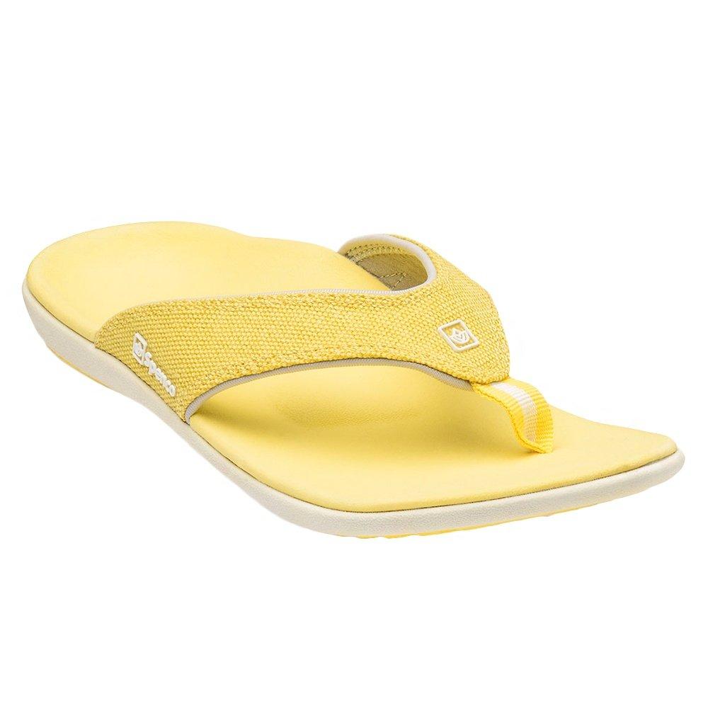 Spenco Yumi Canvas Sandals (Women's) - Sunshine