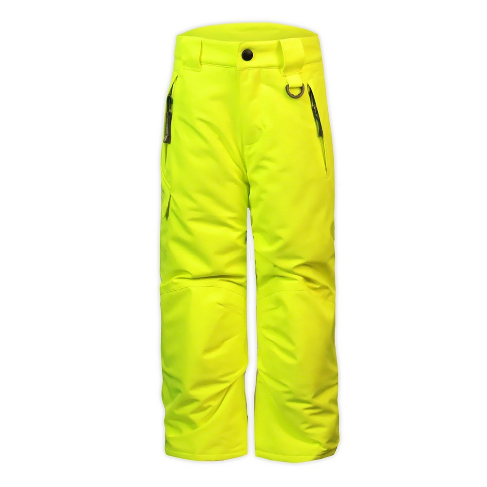 Snow Dragons Rock Solid Insulated Ski Pant (Little Kids') - Electric Yellow