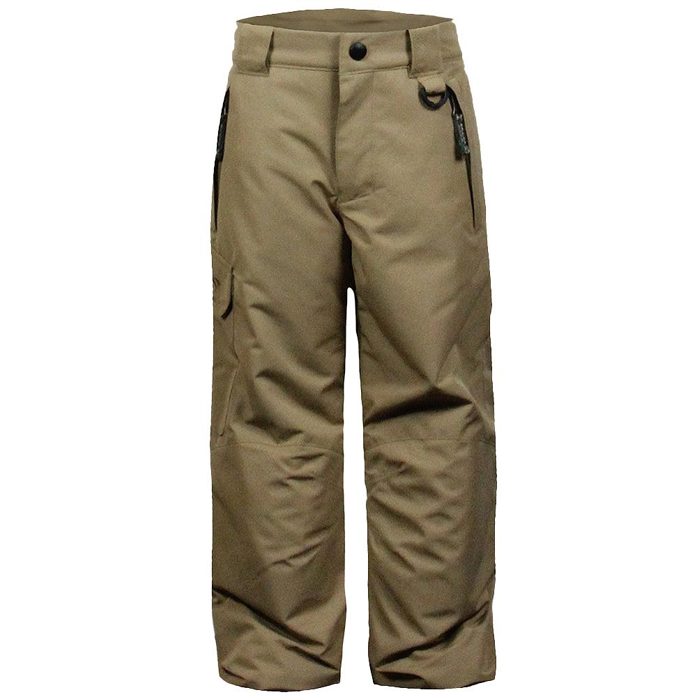 Snow Dragons Rock Solid Insulated Ski Pant (Little Kids') - Tan Earth