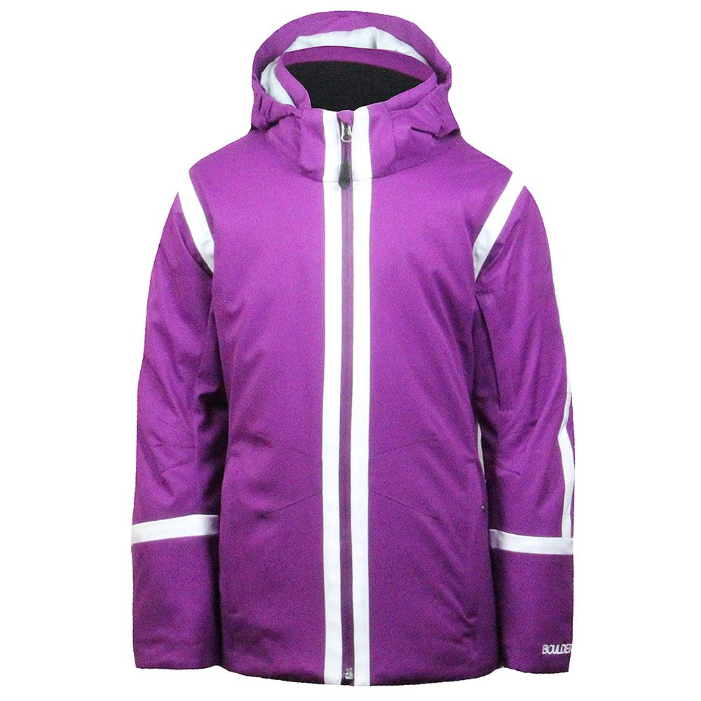 Boulder Gear Dreamer Tech Insulated Ski Jacket (Girls') - Grape Juice/White