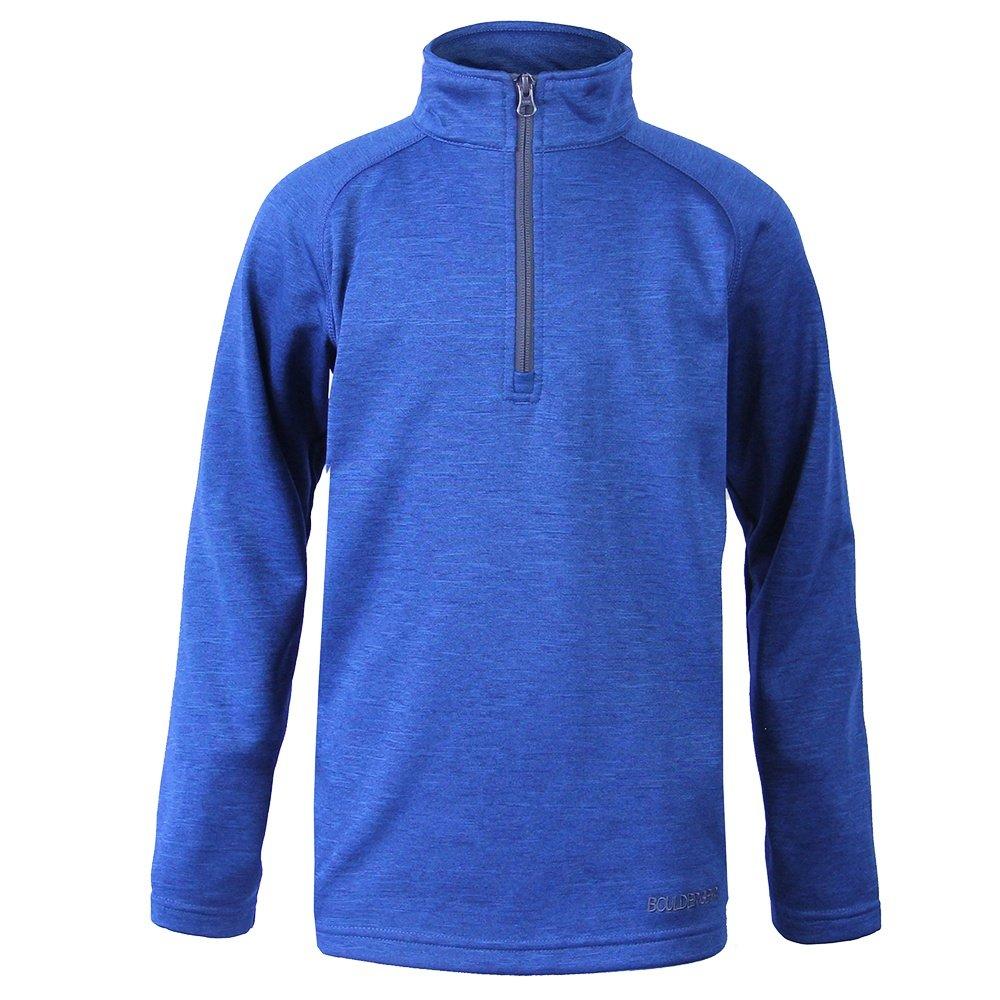 Boulder Gear Charge Micro Half Zip Fleece Mid-Layer (Boys') - Blue Indigo