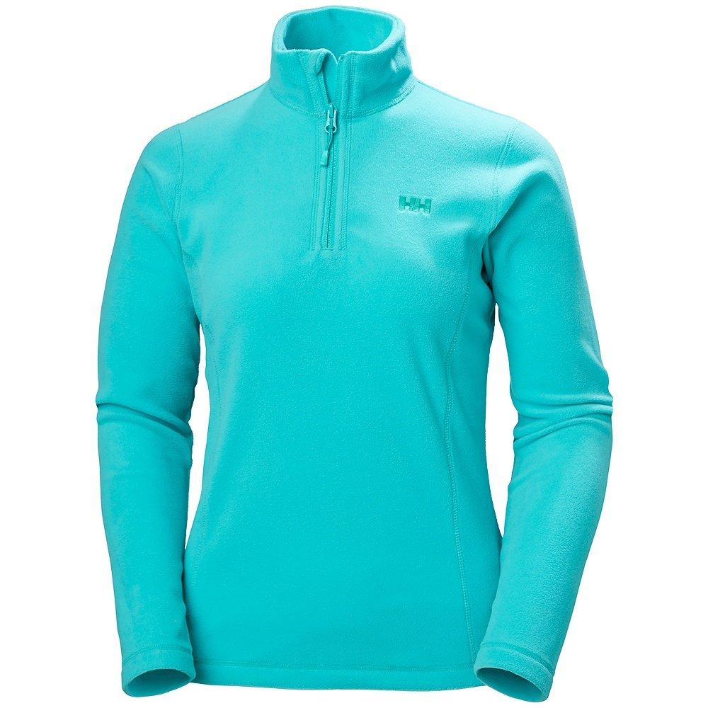 Helly Hansen Daybreaker Half Zip Fleece Mid-Layer (Women's) - Turquoise