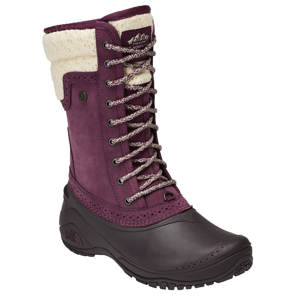 The North Face Shellista II Mid Insulated Boot (Women's) - Fig/Weathered Black