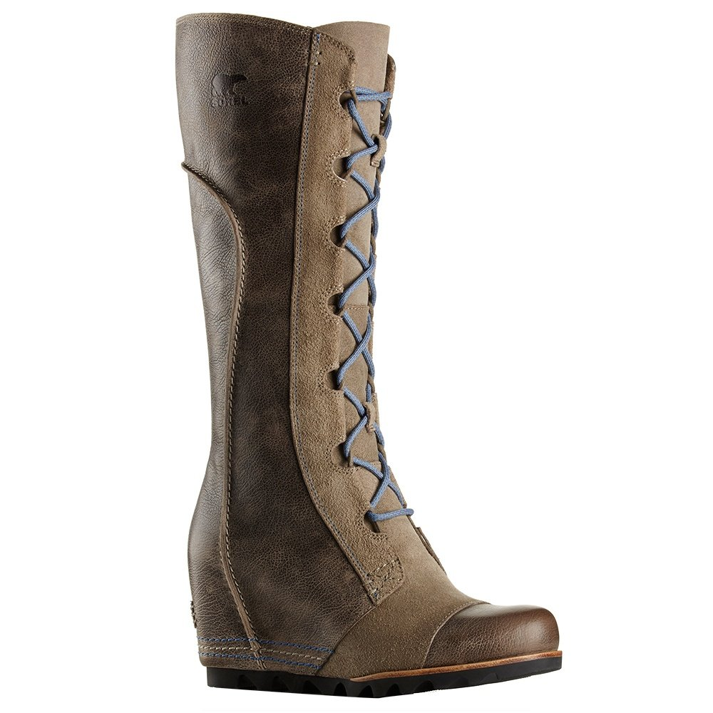 sorel cate the great wedge waterproof boots s
