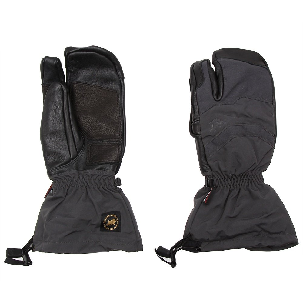 Gordini Elias Gauntlet 3 Finger Glove (Men's) - Grey/Black