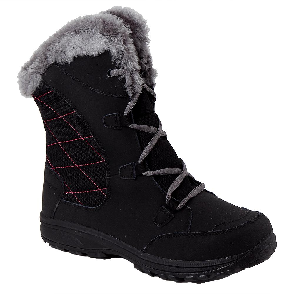Columbia Ice Maiden Lace II Boot (Girls') - Black