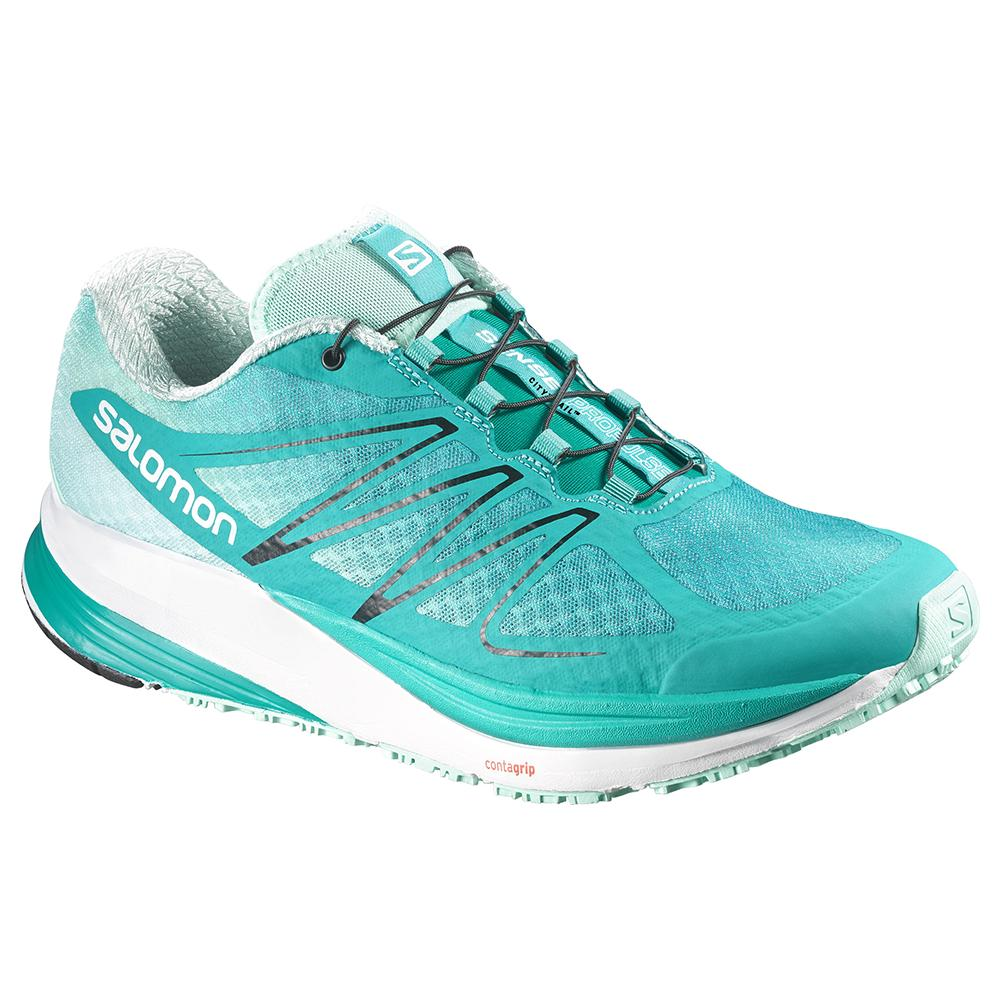 Salomon Sense ProPulse Running Shoe (Women's) - Teal Blue/Igloo Blue/Black