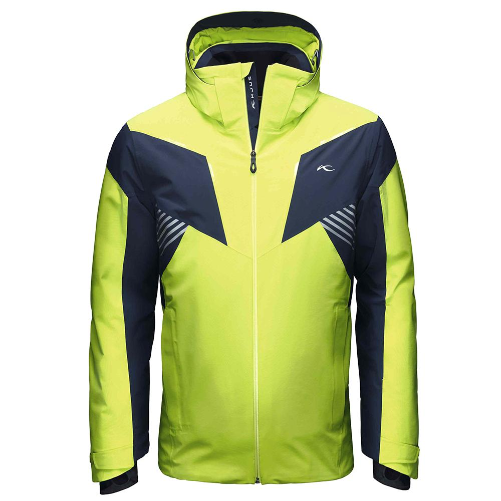 KJUS Revelation Insulated Ski Jacket (Men's) - Wasabi/Atlanta Blue