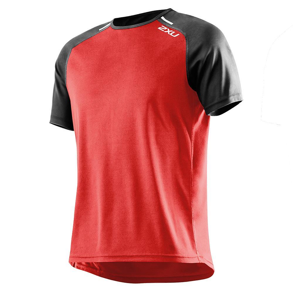 2xu Tech Short Sleeve Running Shirt Men 39 S Run Appeal