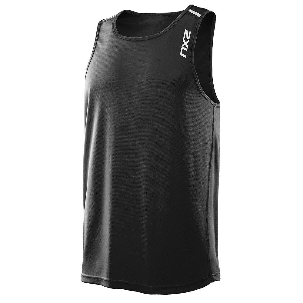 2xu tech singlet sleeveless running shirt men 39 s run appeal for Singlet shirt for mens