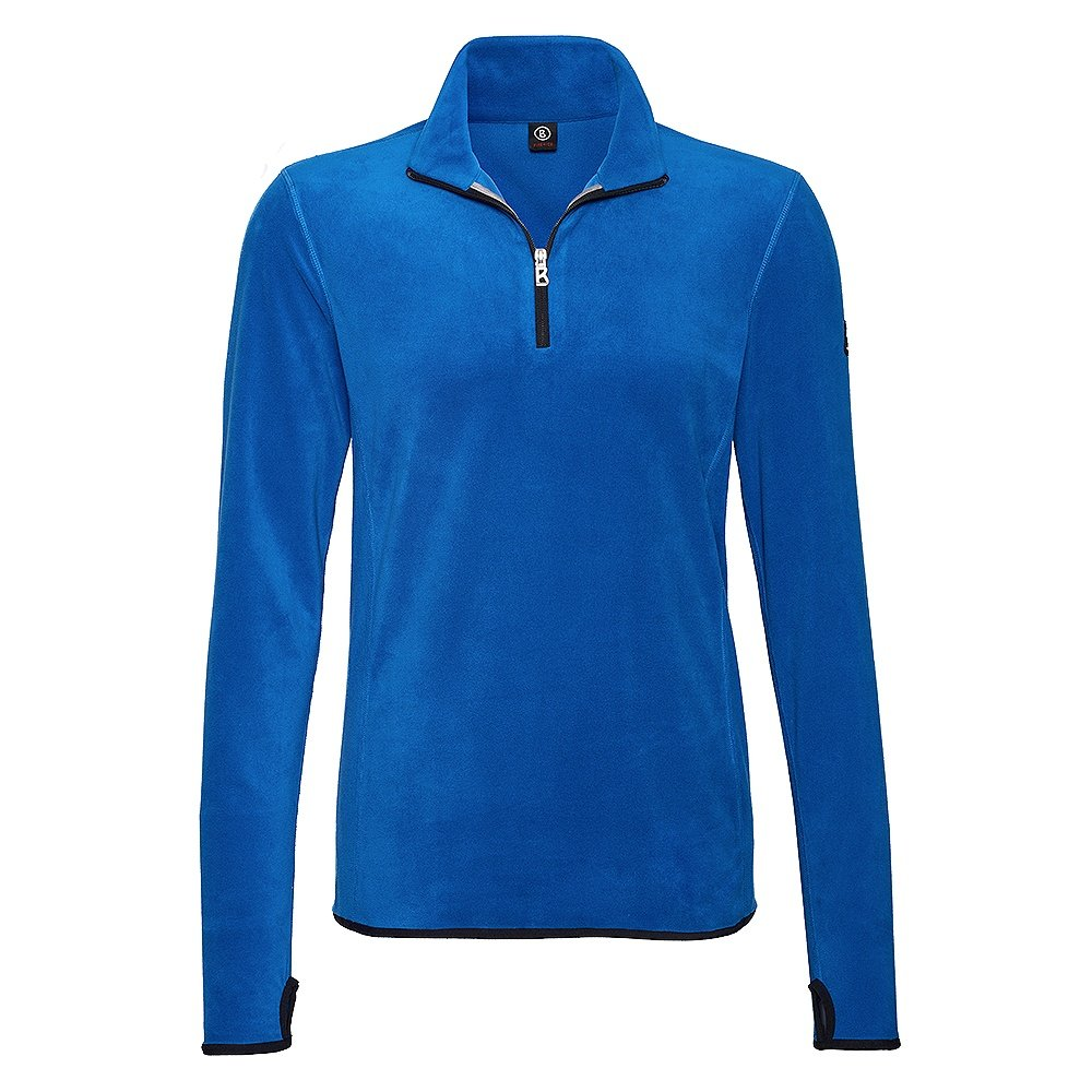 Bogner Fire + Ice Soeren Half Zip Turtleneck Mid-Layer (Men's) - Steel Blue