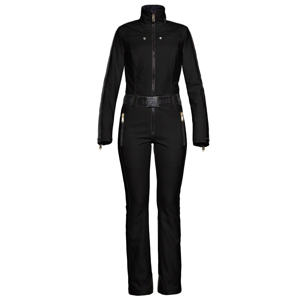Goldbergh Phoenix Softshell Ski Suit (Women's) - Black