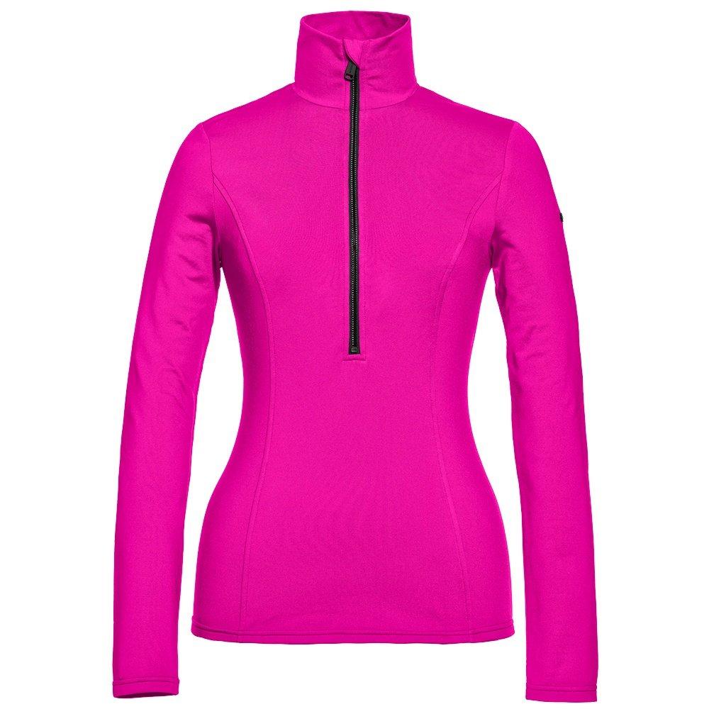 Goldbergh Serena Half Zip Turtleneck Mid-Layer (Women's) - Wow Pink